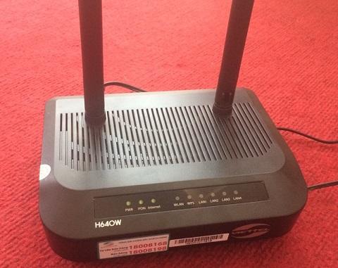 modem wifi viettel h640w