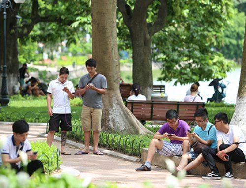 Hướng dẫn cách truy cập sử dụng Wifi miễn phí xung quanh hồ Hoàn Kiếm