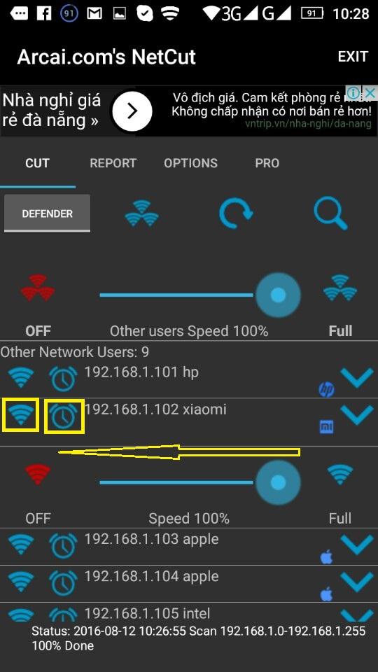 chan nguoi dung truy cap wifi bang netcut 3