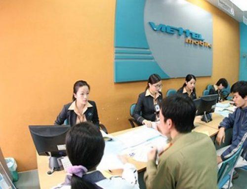 Địa điểm giao dịch của Viettel tại Hà Nội