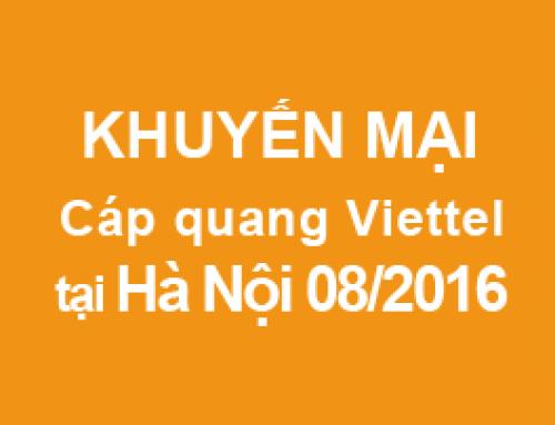 [Hà Nội] Lắp mạng Viettel tại Hà Nội khuyến mại 08/2016