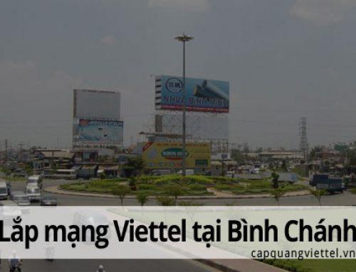 Khuyến mãi lắp đặt mạng Viettel tại huyện Bình Chánh