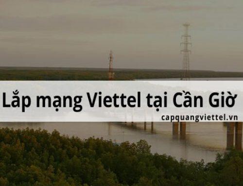 Khuyến mãi lắp mạng Viettel tại huyện Cần Giờ