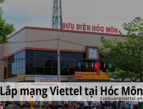 Khuyến mãi lắp mạng Viettel tại huyện Hóc Môn